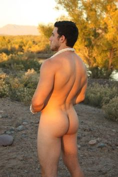Naked guys butts