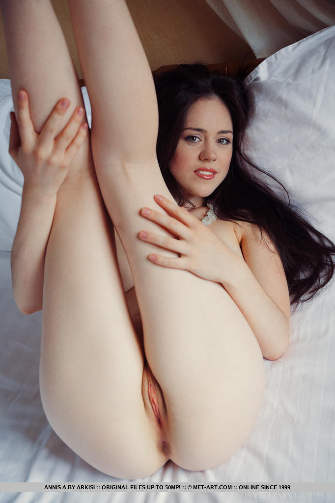 Pale pink pussy nude